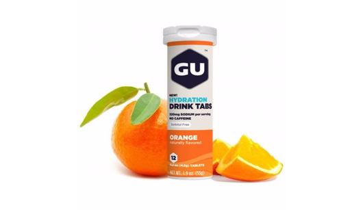 Nápoj GU - Hydration drink tabs - Orange